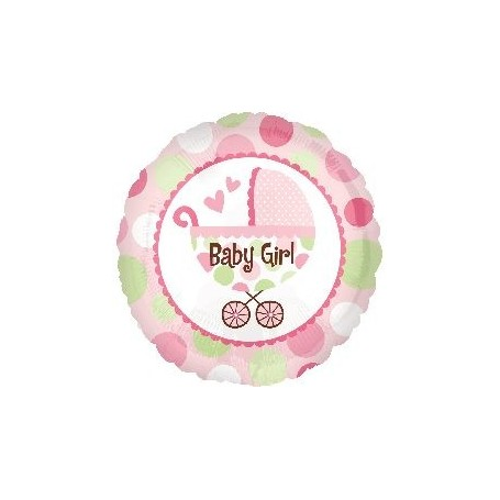 baby girl bb車氫氣球 for 100 Days Birthday Balloon - Candy Corner Decoration