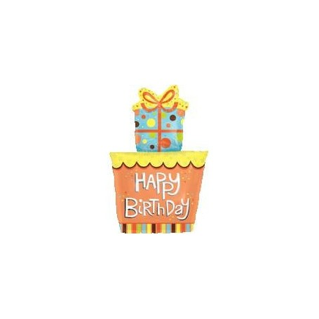 happy birthday禮物氫氣球 for Birthday Party Balloon - Candy Corner Decoration