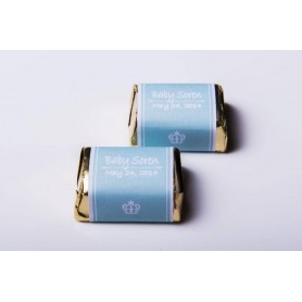 tiffany blue Personalized Design Hershey's Chocolate  | Wedding Chocolate