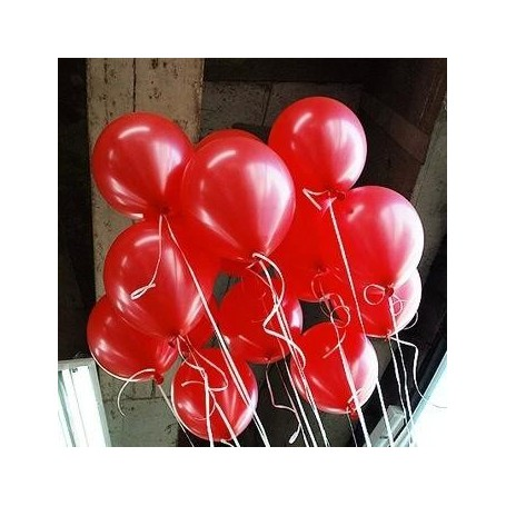 韓國NEO10吋珠光紅色圓形氣球 for Imported Latex Balloons - Candy Corner Decoration
