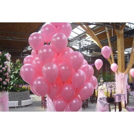 韓國NEO珠光色10吋圓形氣球(粉紅色) for Imported Latex Balloons - Candy Corner Decoration