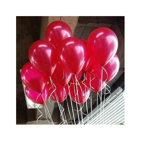 韓國NEO珠光色10吋圓形氣球(櫻桃紅) for Imported Latex Balloons - Candy Corner Decoration