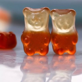 CLEAR COLA GRIZZLY BEARS GUMMY CANDY for Gummy - Candy Corner Decoration