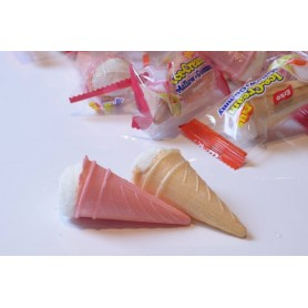 Ice cream cone mini marshmallow for Marshmallow - Candy Corner Decoration