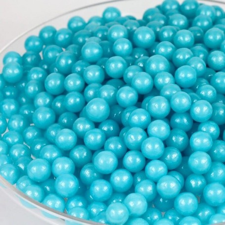 Sugar Candy Beads - Blue for Hard Candy Wholesale and Retail - Candy House Candy Kingdom