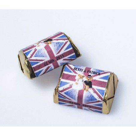 England Style Personalized Design Hershey's Chocolate | Wedding Chocolate for Personalized Hershey's Wedding Chocolate  - Can...