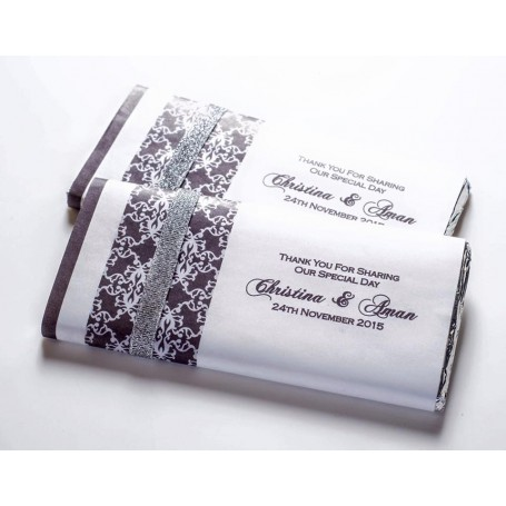 個人化設計MEIJI朱古力塊 PERSONALIZED MEIJI CHOCOLATE BAR / Wedding Chocolate適用於個人化設計Meiji 明治朱古力塊 - Candy Corner Decoration