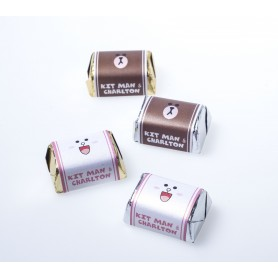 Brown & Cony Personalized Design Hershey's Chocolate  | Wedding Chocolate