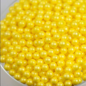 Sugar Candy Beads - Yellow for Hard Candy Wholesale and Retail - Candy House Candy Kingdom