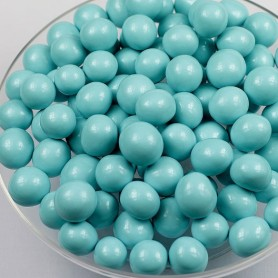 Milk Chocolate Malt Balls – Tiffany Blue for Sugar Chocolate - Candy Corner Decoration