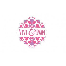 婚禮LOGO設計 - Wedding Logo Design015適用於婚禮LOGO設計 - Candy Corner Decoration