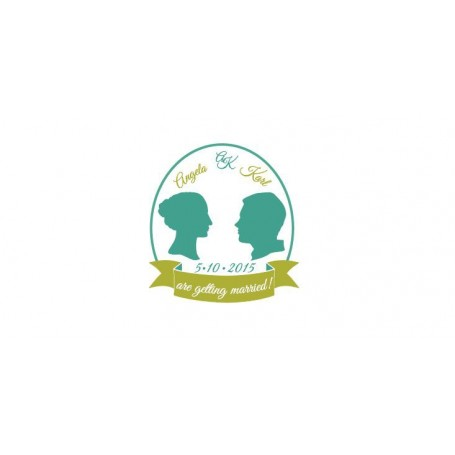婚禮LOGO設計 - Wedding Logo Design024適用於婚禮LOGO設計 - Candy Corner Decoration
