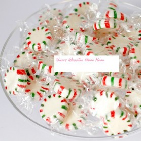 Red Green White Wheel Candy for Christmas Candy - Candy Corner Decoration