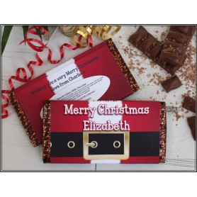 CORPORATE DESIGN MEIJI CHRISTMAS SANTA CHOCOLATE BAR / XMAS CHOCOLATE BAR 002 for Personalized Meiji Chocolate Bar | Wedding ...