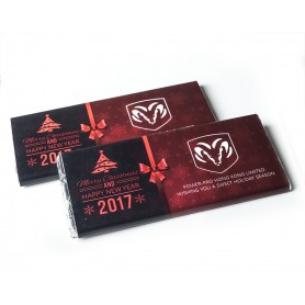 CORPORATE DESIGN MEIJI CHRISTMAS CHOCOLATE BAR / XMAS CHOCOLATE BAR 002 for Personalized Meiji Chocolate Bar | Wedding Chocol...