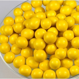 Milk Chocolate Malt Balls – Yellow for Sugar Chocolate - Candy Corner Decoration