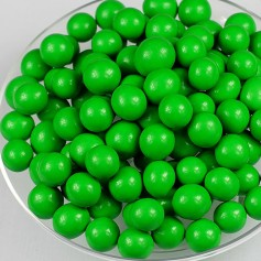 Milk Chocolate Malt Balls – Green