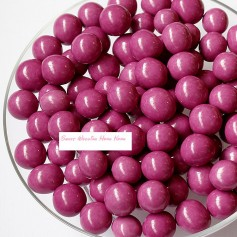 Milk Chocolate Malt Balls  – Purple