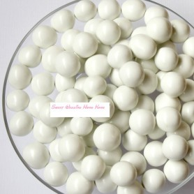 Milk Chocolate Malt Balls - White