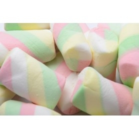 Four-color twill marshmallows