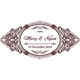 婚禮LOGO設計 - Wedding Logo Design041適用於婚禮LOGO設計 - Candy Corner Decoration