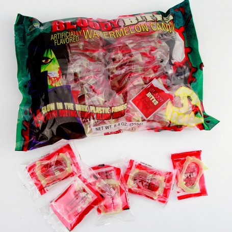 Halloween Bloody Bites Oozing Candy Blood Bag(big) for Halloween Candy Wholesale and Retail - Candy House Candy Kingdom
