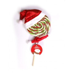 Christmas Lollipops 80G (with christmas hat and scarf)