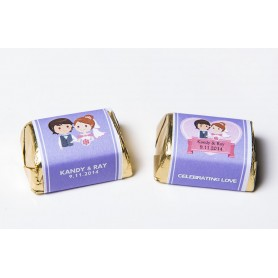 Personalized Design Hershey's Chocolate  | Wedding Chocolate