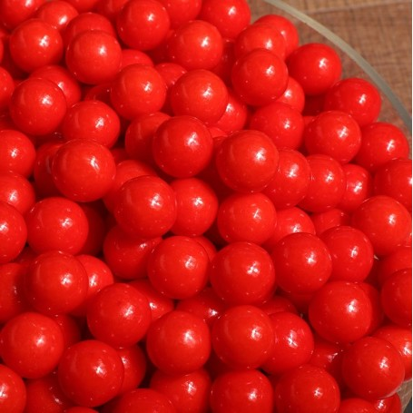 Bright red sugar beans for Christmas Candy - Candy Corner Decoration