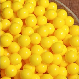 Bright Yellow sugar beans for Hard Candy - Candy Corner Decoration
