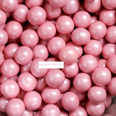 Pink Color Pearly Milk Chocolate