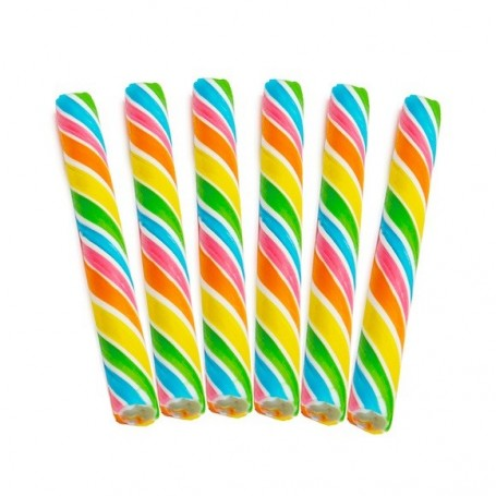 Sweet Spindles Mini Hard Candy Sticks - Rainbow for sucker Wholesale and Retail - Candy House Candy Kingdom