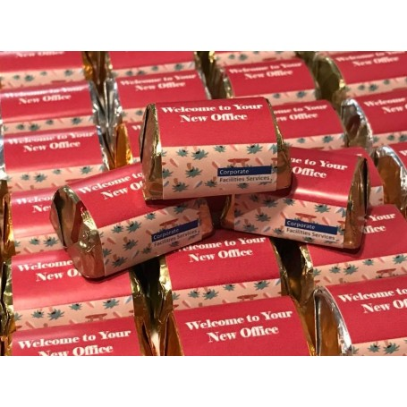 Personalized Hershey's Chocolate / Enterprise / Company Chocolate / Organization Chocolate / Corporate Chocolate Gift for Per...