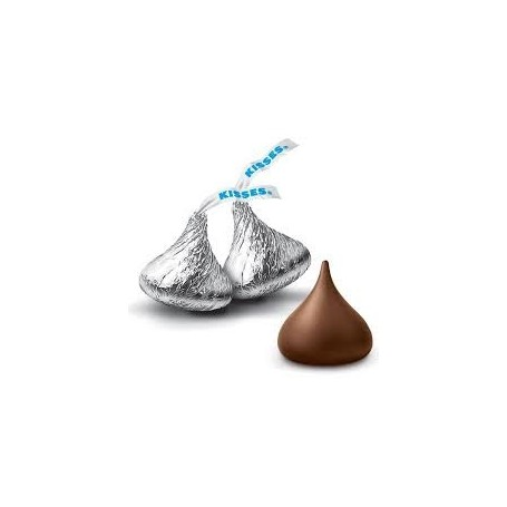 Classic Bag美國Hershey's Kisses Milk Chocolate 回禮銀色包裝牛奶朱古力 for HERSHEY'S Chocolate - Candy Corner Decoration