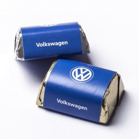 Volkswagen Personalized Hershey's Chocolate / Enterprise / Company Chocolate / Organization Chocolate / Corporate Chocolate Gift