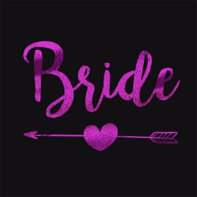 Flash Purple Wedding Tattoo Sticker Bride (T19) for Flash Purple Color Wedding Tattoo Sticker - Candy Corner Decoration