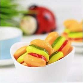 DOUBLE LAYER FUN BURGERS GUMMY for Gummy Wholesale and Retail - Candy House Candy Kingdom