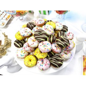 Mini Colorful Chocolate Donuts 52pcs for Mini Colorful Chocolate Donuts Wholesale and Retail - Candy House Candy Kingdom