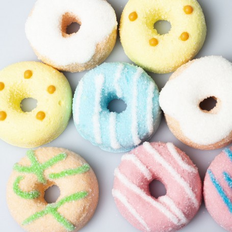 Donuts shape marshmallow for Marshmallow - Candy Corner Decoration