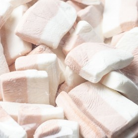Coffee cube marshmallow for Marshmallow - Candy Corner Decoration