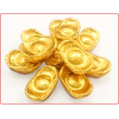 Chinese New Year Gold Ingot Chocolate