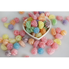 Assorted fruit hard candy