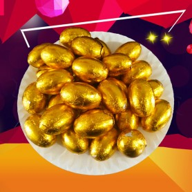 Easter Chocolate Golden Eggs for Easter Holiday Candy - Candy Corner Decoration