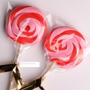 Red & Pink Color Handmade Lollipops 50g
