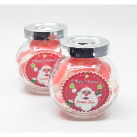 Personalized design Christmas gummy candy glass favor gifts for Personalized Design Candy Glass - Candy Corner Decoration