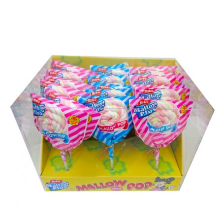 Marshmallows Lollipops 40g for Marshmallow - Candy Corner Decoration