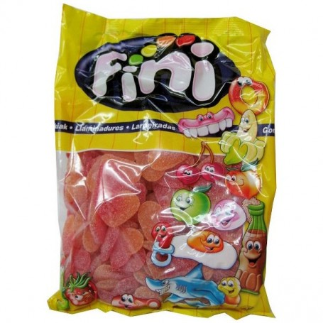 Spain Fini Peaches Heart Gummy (Original package 1kg) for Gummy - Candy Corner Decoration