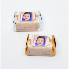 Photo 100 Days Birthday HERSHEY'S Chocolate / 100 Days Birthday Chocolate for Personalized Hershey's Wedding Chocolate  - Can...