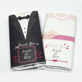 Bride and Groom Personalized MEIJI Wedding Chocolate Bar for Personalized Meiji Chocolate Bar | Wedding Chocolate Bar - Candy...