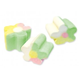 Spain Fini Flowers Shape Marshmallow for Marshmallow - Candy Corner Decoration